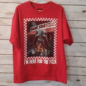 Star Wars Darth Vader I'm Here For The Pizza 14 XL